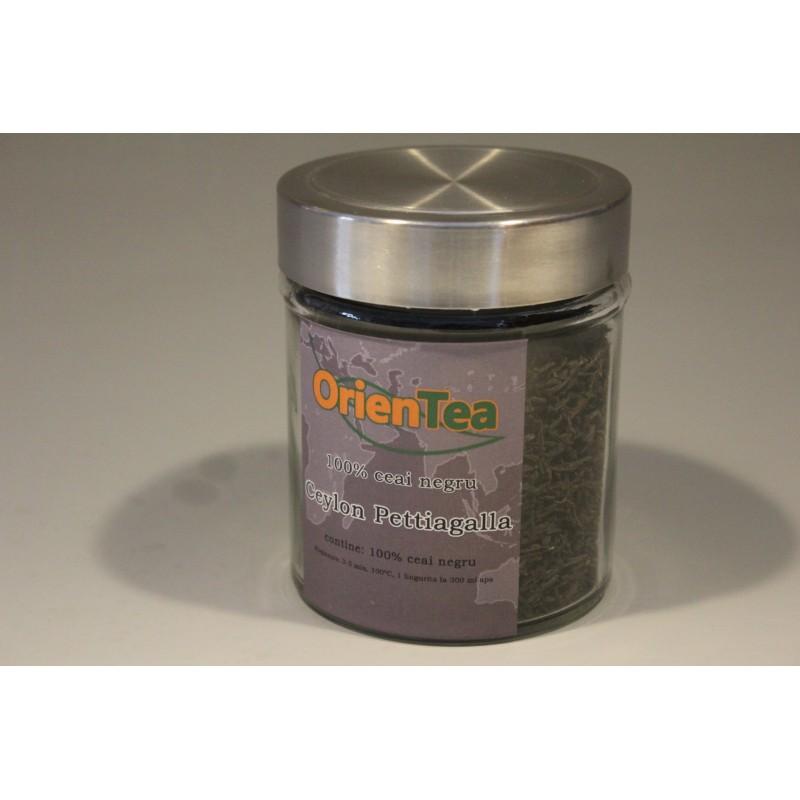 Ceylon Pettiagalla - Ceai negru 80g borcan mic