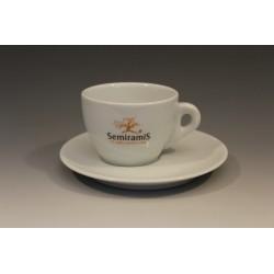 Ceasca cappuccino cu farfurie
