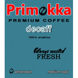 "Cafea boabe Primokka ""Decaff"""